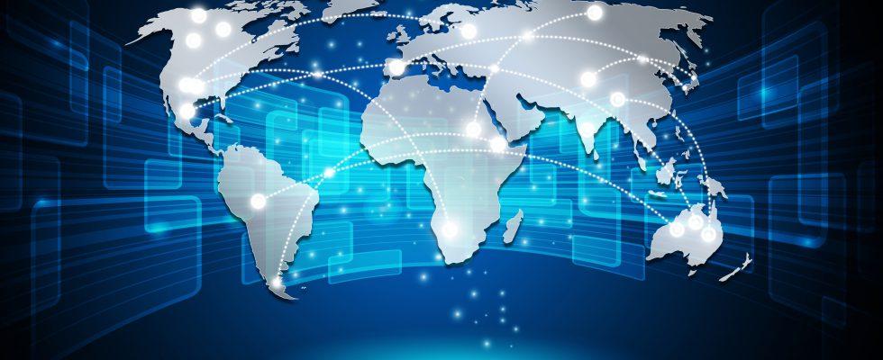 internet concept word network